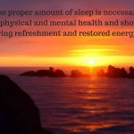 Sleep Times – What Ayurveda Tells Us