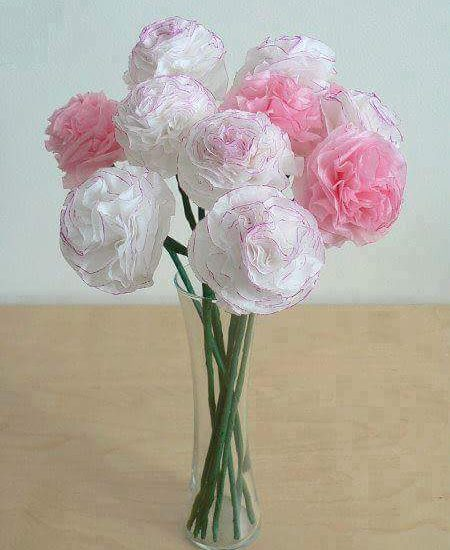 Paper flower decoration ideas happiness creativity paper flower decoration ideas mightylinksfo