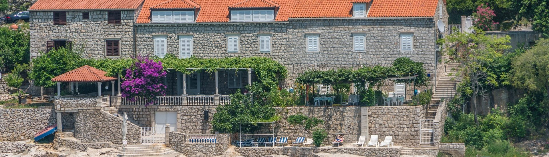Croatia stone house