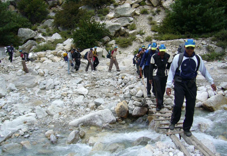 trekking assam
