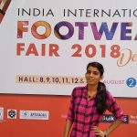 Last day of 3rd largest Footwear India Expo - Pragati Maidan, New Delhi