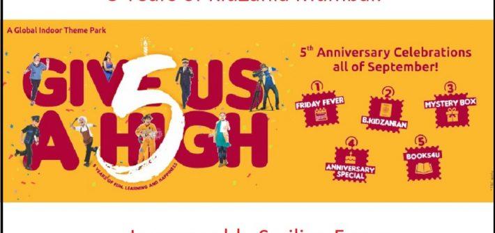 KidZania Mumbai 5th Anniversary