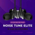 Noise announces its new TuneELITE Bluetooth headphones