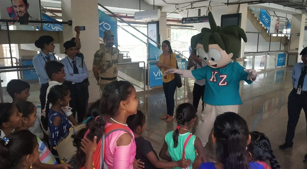 KidZania Mumbai collaborates with Mumbai Metro 1 (5)