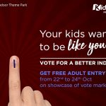 Get Rewarded at KidZania Mumbai For Being a Responsible Citizen this Election Week